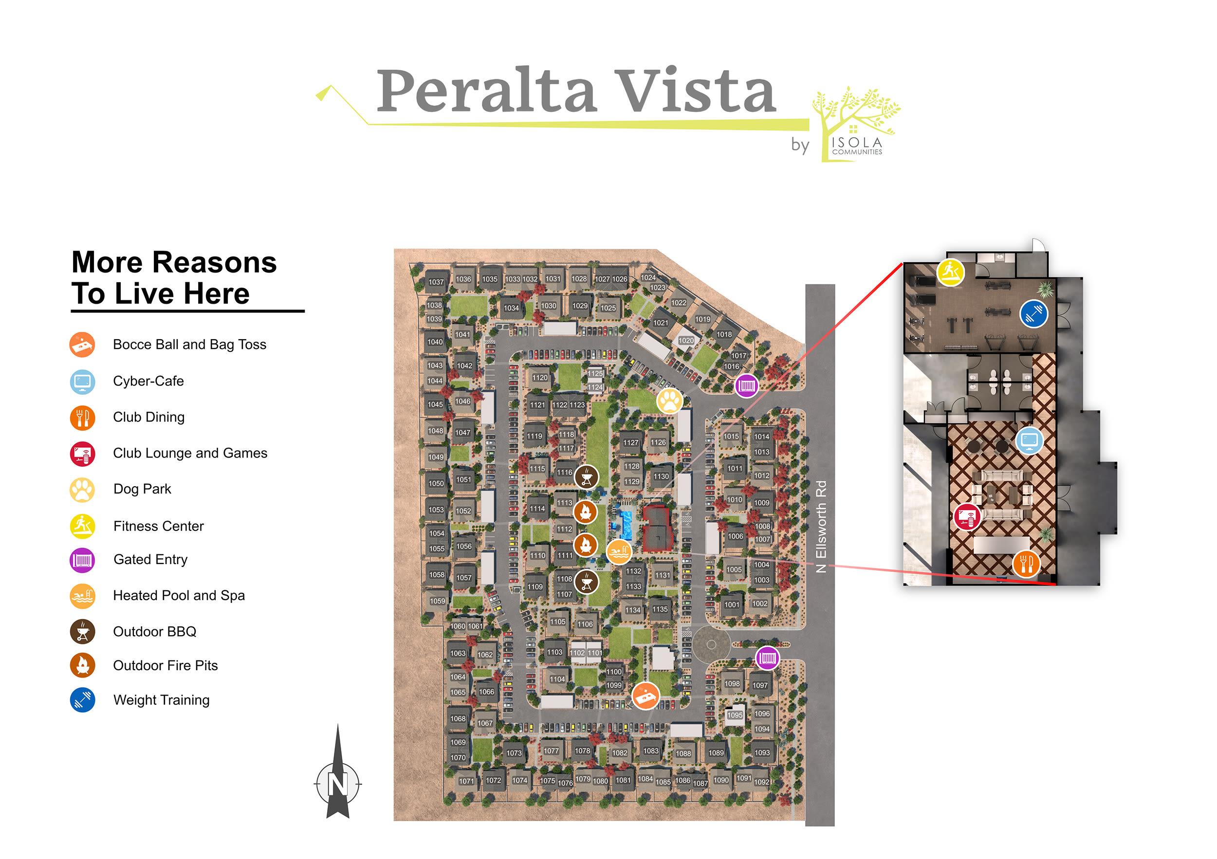 Peralta Vista site plan