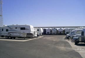 RV's stored at Green Valley RV and Self Storage in Green Valley, AZ