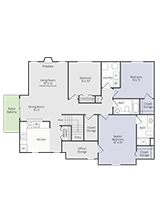 Printable floor plan Medallion at Briar Cove Terrace Apartments