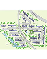 Briar Cove Terrace Apartments Site Map