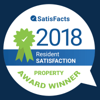 Vista at 23 Apartments in Gresham, Oregon is a SatisFacts 2018 award winner.