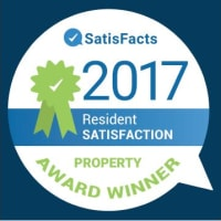 Vista at 23 Apartments in Gresham, Oregon is a SatisFacts 2017 award winner.