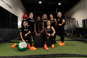 Group of Mark-Taylor employees posing for a photo after an MT Fit Event