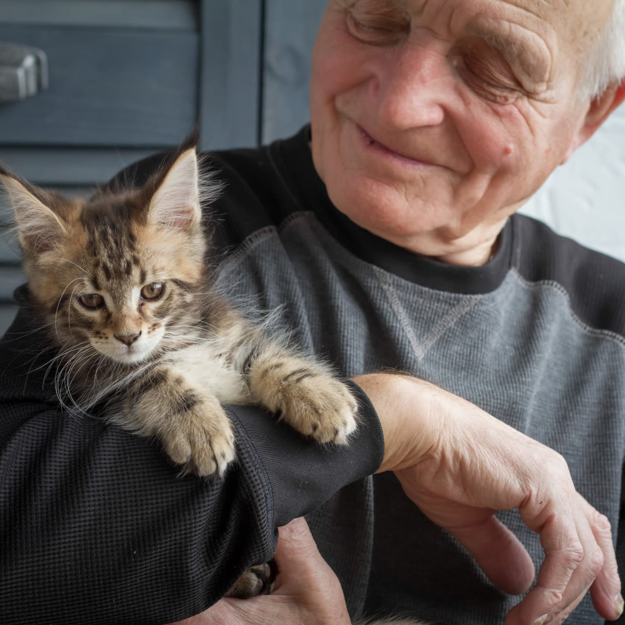 Pet-friendly at Broadwell Senior Living in Kearney, Nebraska