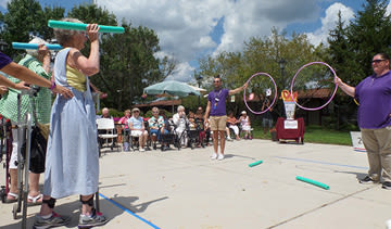 Cardinal Village holds its own Senior Olympics