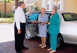 Senior living transportation in Lexington features chauffeured transportation