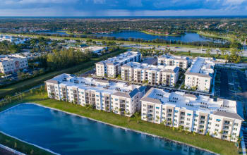 Aerial view of Luma at West Palm Beach
