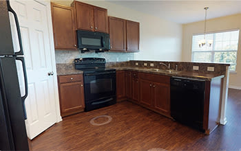 Virtual tour of a two bedroom apartment at Emerald Pointe Townhomes in Harrisburg, Pennsylvania