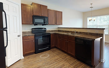 Virtual tour of a three bedroom apartment at Emerald Pointe Townhomes in Harrisburg, Pennsylvania