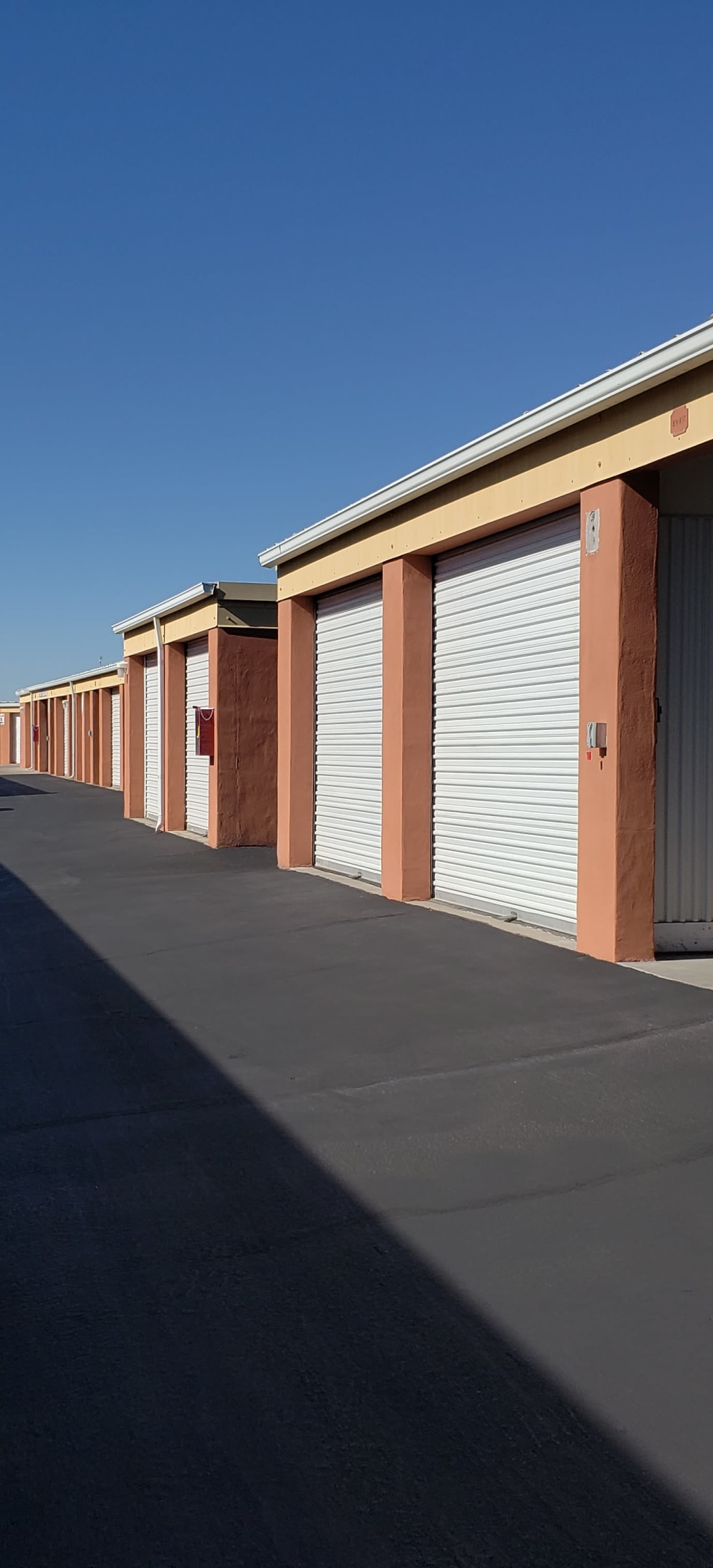 Indoor Storage Units at Southern Pavilion Self Storage in Mesa, Arizona