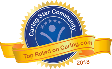 Caring award graphic for 2017
