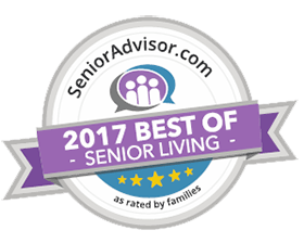 Chestnut Knoll Wins 2017 Best of Senior Living Award from SeniorAdvisor.com