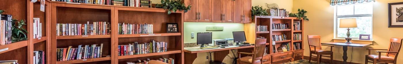 Senior living options at the senior living community in Phoenixville