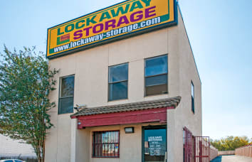 View our West Ave. self storage location