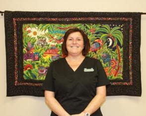 Michelle works at Pusch Ridge Pet Clinic