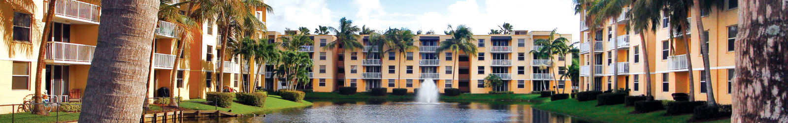 1 & 2 bedrooms offered at apartments in Dania Beach
