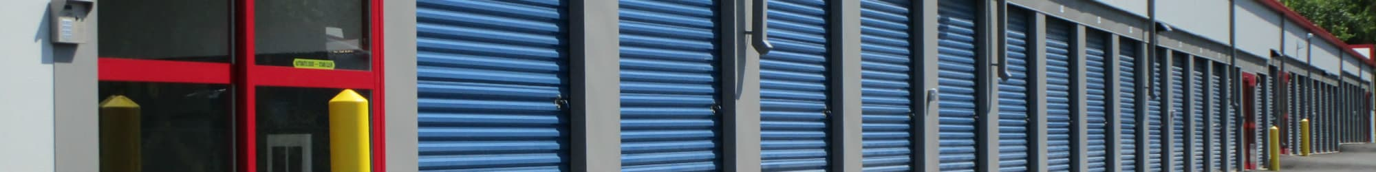 Self storage units in Manassas