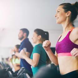 Fitness center at Hyde Park at Ribelin Ranch