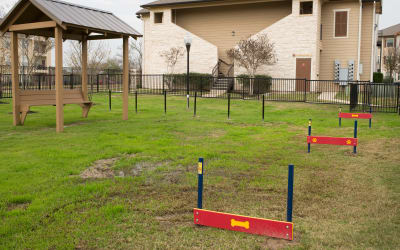 Park Hudson Place offers a dog park in Bryan, Texas