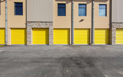 Easy access units at Storage Star in Fort Collins, Colorado.