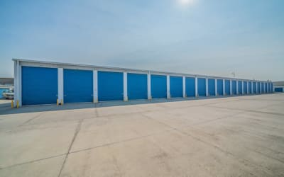 Row of storage units at Storage Star Salida in Salida, California