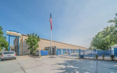 Front entrance at Storage Star Salida in Salida, California