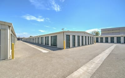 Drive-up access at Storage Star Woodland in Woodland, California