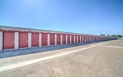 Large storage units at Storage Star Rancho Cordova in Rancho Cordova, California