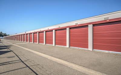 Outdoor units at Storage Star Rancho Cordova in Rancho Cordova, California