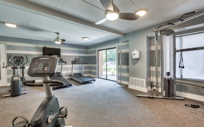 Fitness Center at Parkway Apartments