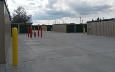 Exterior Storage Units at Storage Star Cheyenne