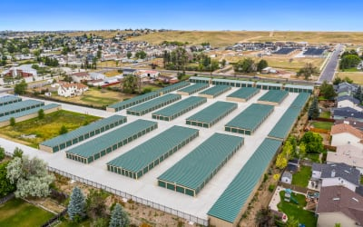 Aerial view of complex at Storage Star Cheyenne in Cheyenne, Wyoming