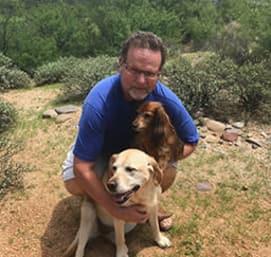 Dr. Tim Halstead works at Pusch Ridge Pet Clinic