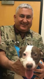 Dr. Montero, DVM at San Antonio Veterinary Clinic