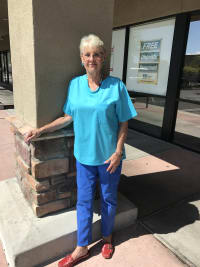 Barb works at Pusch Ridge Pet Clinic