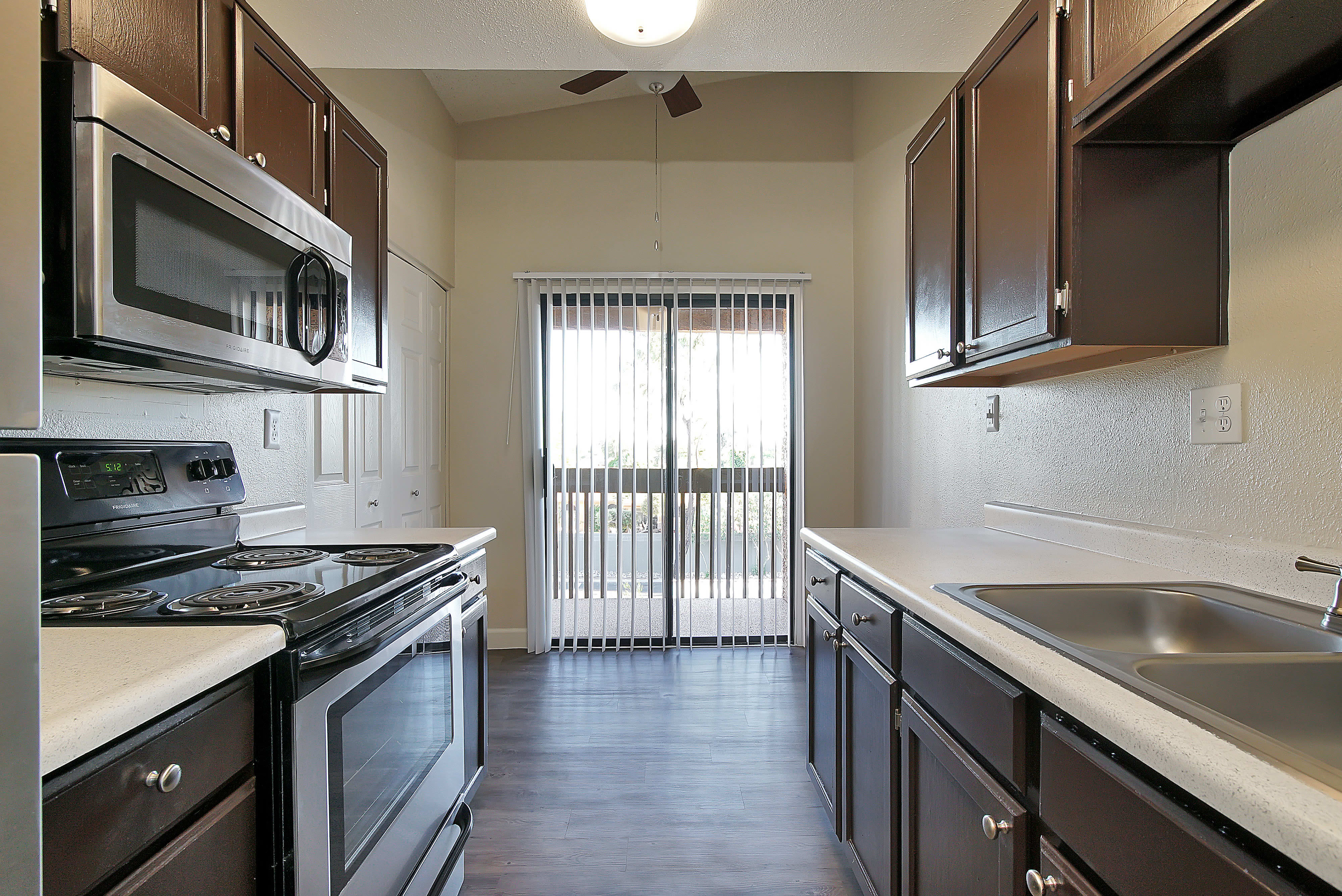 kitchen at Renaissance Apartment Homes