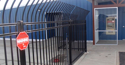 Entrance gate at ABC Mini Storage in Spokane, Washington