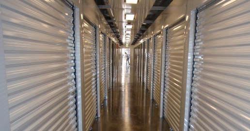 Interior units at ABC Mini Storage in Spokane, Washington