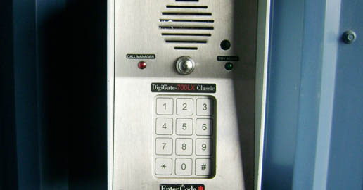 Keypad at ABC Mini Storage in Spokane, Washington