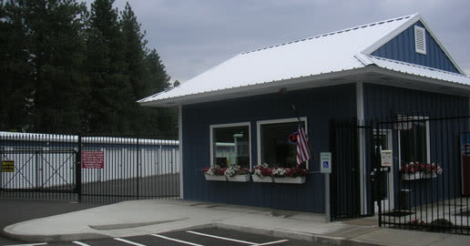 Leasing office at ABC Mini Storage in Spokane, Washington