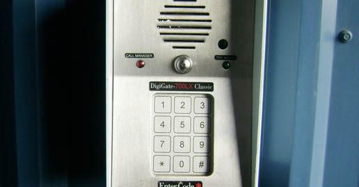 Keypad at ABC Mini Storage in Spokane, Washington