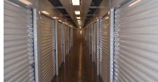 Well-lit interiors at ABC Mini Storage in Spokane, Washington