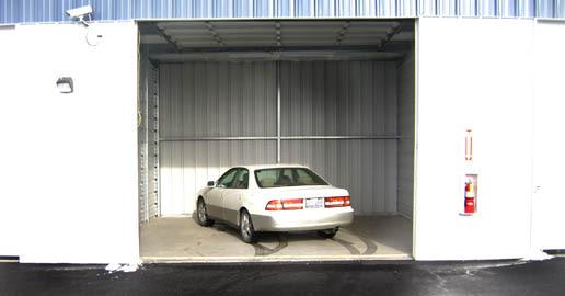Auto storage at ABC Mini Storage in Spokane Valley, Washington