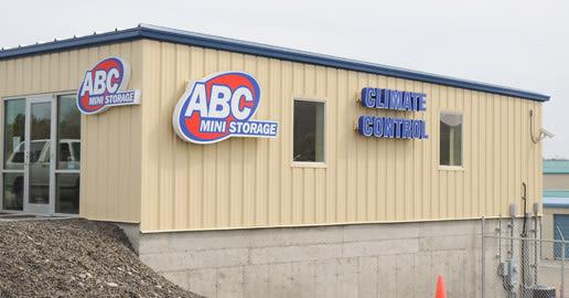 Leasing office at ABC Mini Storage in Richland, Washington