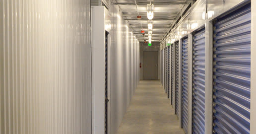 Well-lit interiors at ABC Mini Storage in Richland, Washington