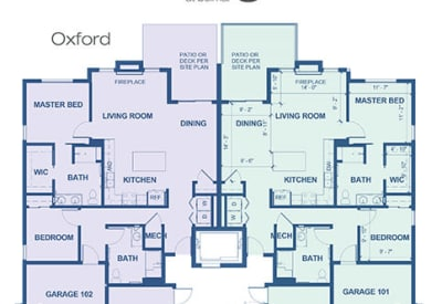 Learn More About Our Oxford Independent Living Floor Plan Option At Village Belmar
