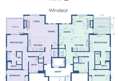 Learn more about our Windsor independent living floor plan option at Village at Belmar