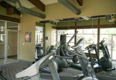 The Veridian Place fitness center in Dallas, Texas