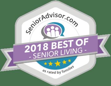 Senior Living Award for Pacifica Senior Living