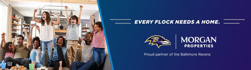 Morgan Properties is Proud Partners of the Baltimore Ravens
